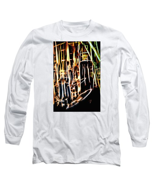 Bright And Strong Long Sleeve T-Shirt by Rajiv Chopra