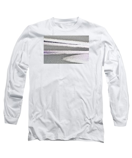 Bright Sun On The Ice  Long Sleeve T-Shirt by Lyle Crump