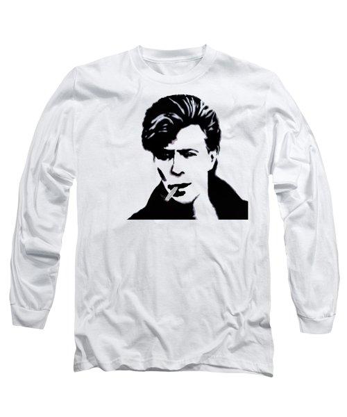 Long Sleeve T-Shirt featuring the digital art British Rock by Pennie  McCracken