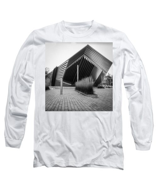 Broad Art Museum Long Sleeve T-Shirt by Larry Carr