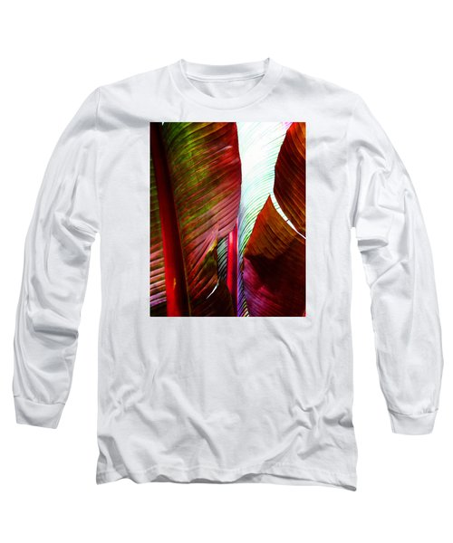 Broad Leaves Long Sleeve T-Shirt by Timothy Bulone