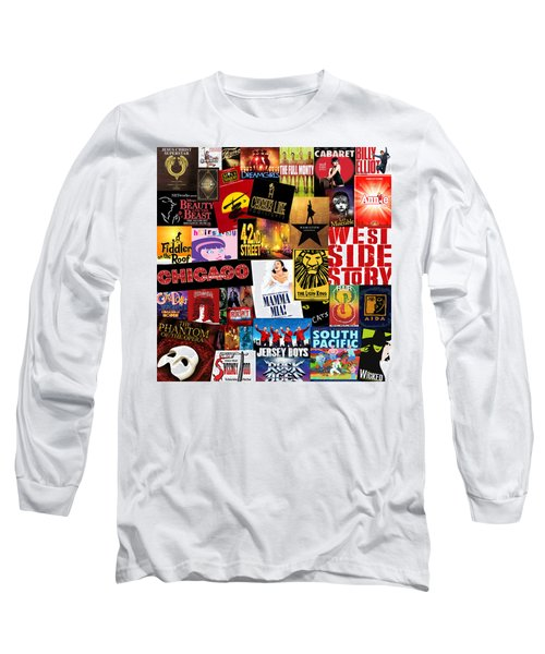 Broadway 10 Long Sleeve T-Shirt by Andrew Fare