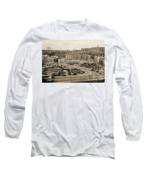 Broadway And Nagle Ave 1936 Long Sleeve T-Shirt by Cole Thompson