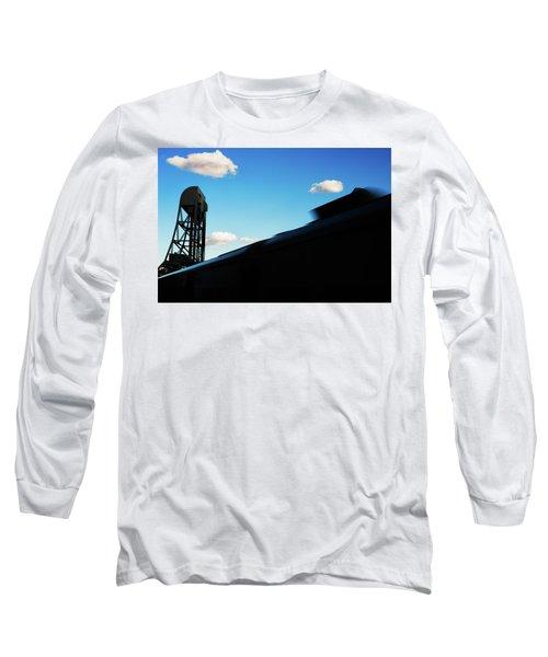 Broadway Bridge Abstract 1 Chromatic Long Sleeve T-Shirt