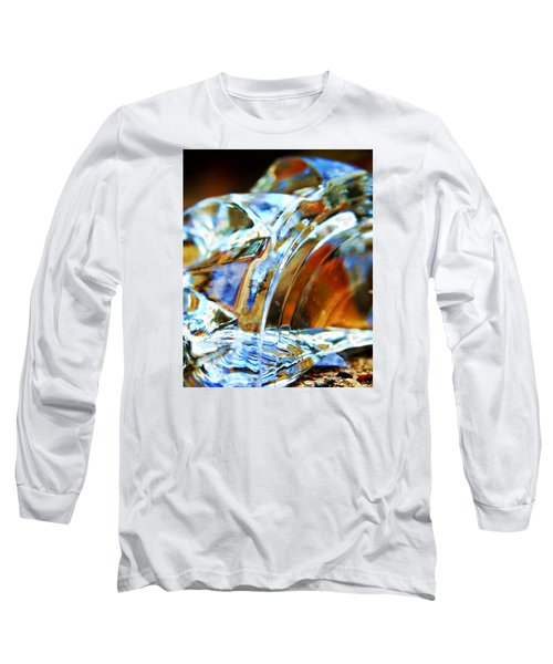 Broken Glass In A Stairwell Long Sleeve T-Shirt
