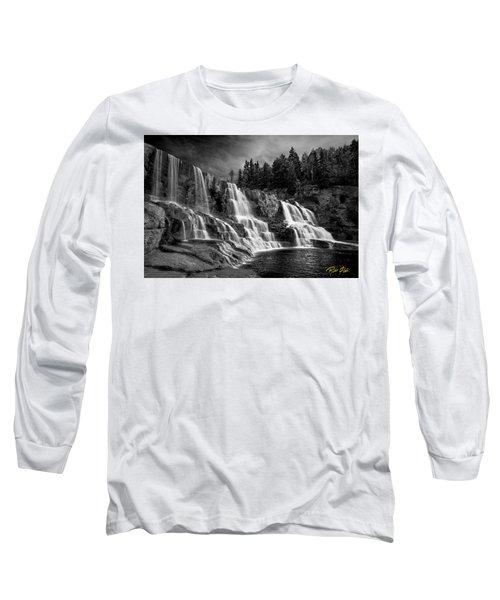 Brooding Gooseberry Falls Long Sleeve T-Shirt