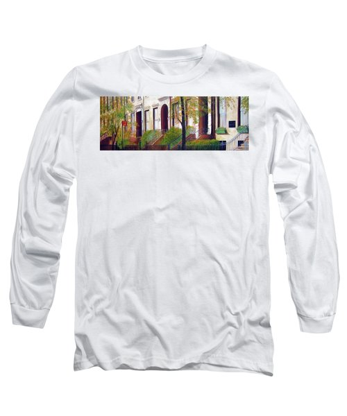 Brooklyn Brownstone Corridor 2 Long Sleeve T-Shirt