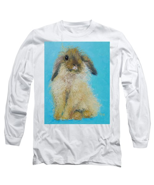 Brown Easter Bunny Long Sleeve T-Shirt