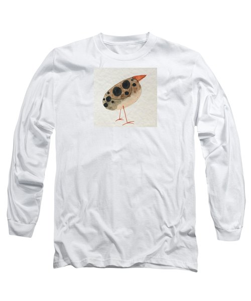 Brown Spotted Bird Long Sleeve T-Shirt