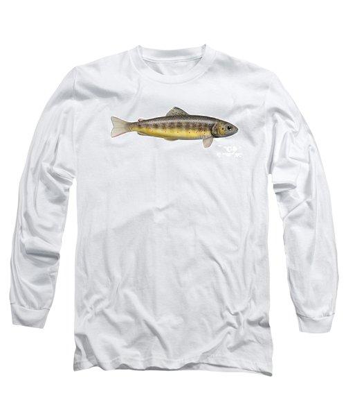 Brown Trout - Autochthonous - Indigenous - Salmo Trutta Morpha Fario - Salmo Trutta Fario Long Sleeve T-Shirt