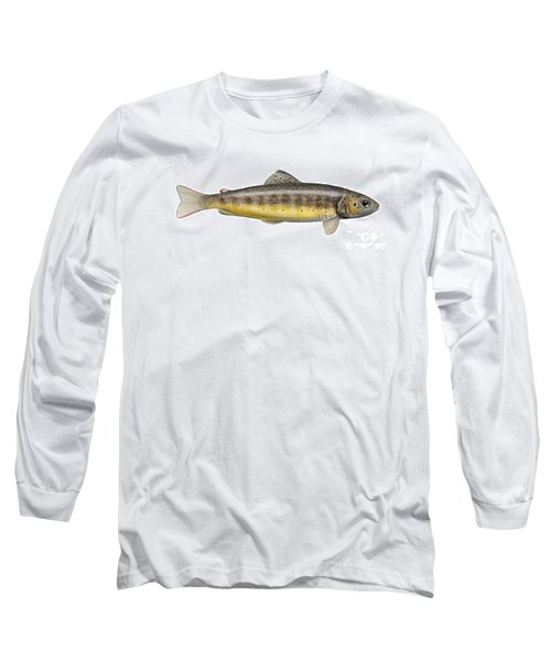 Brown Trout - Autochthonous - Indigenous - Salmo Trutta Morpha Fario - Salmo Trutta Fario Long Sleeve T-Shirt