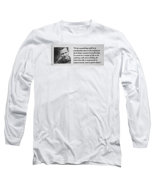 Bruce Mclaren Long Sleeve T-Shirt