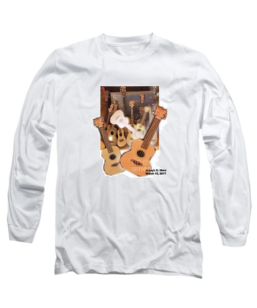 Bruce's Ukuleles Long Sleeve T-Shirt