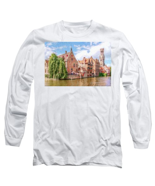 Bruges Canal Belgium Dwp-2611575 Long Sleeve T-Shirt