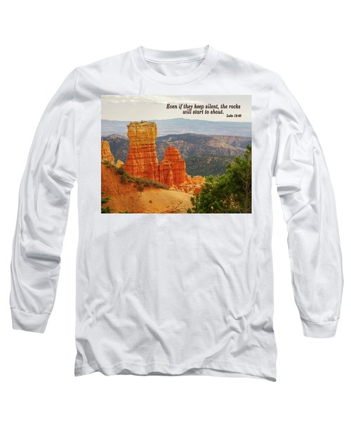 Bryce Canyon Long Sleeve T-Shirt by Jim Mathis