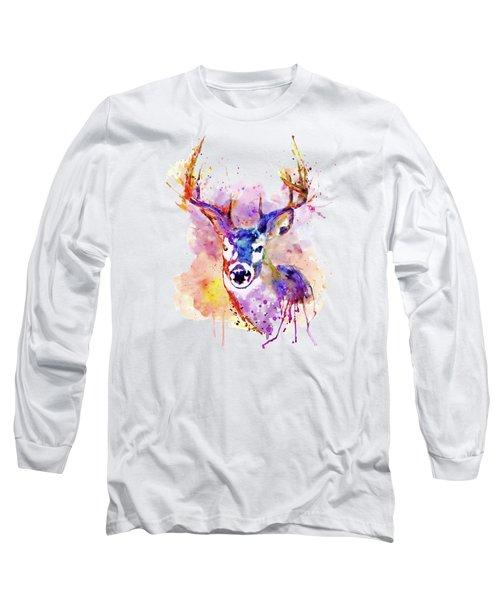 Buck Long Sleeve T-Shirt by Marian Voicu