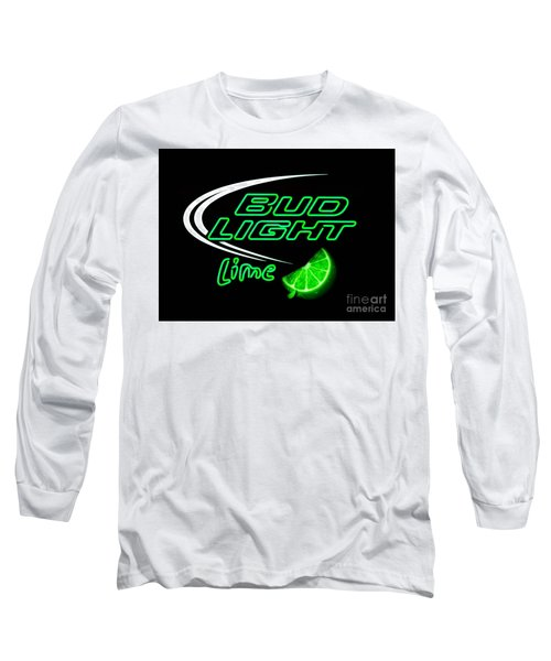 Bud Light Lime Edited Long Sleeve T-Shirt