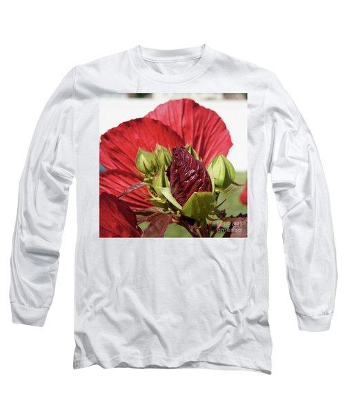 Budding Beauty Long Sleeve T-Shirt