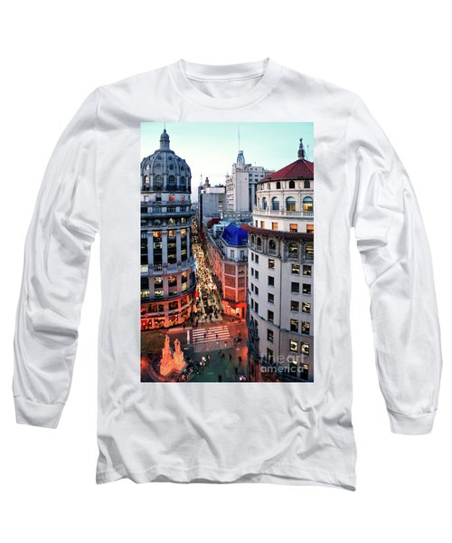 Buenos Aires Street I Long Sleeve T-Shirt
