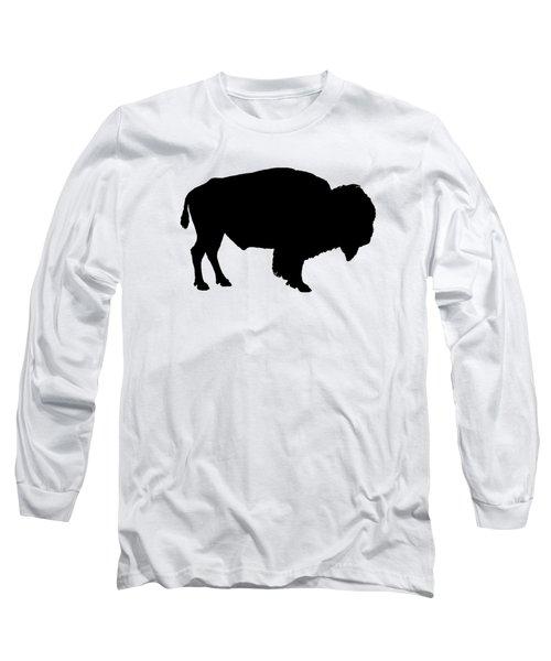 Buffalo Long Sleeve T-Shirt by Mordax Furittus