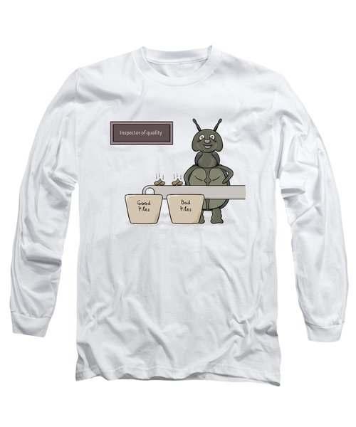Bug As A Inspector Of Quality Long Sleeve T-Shirt