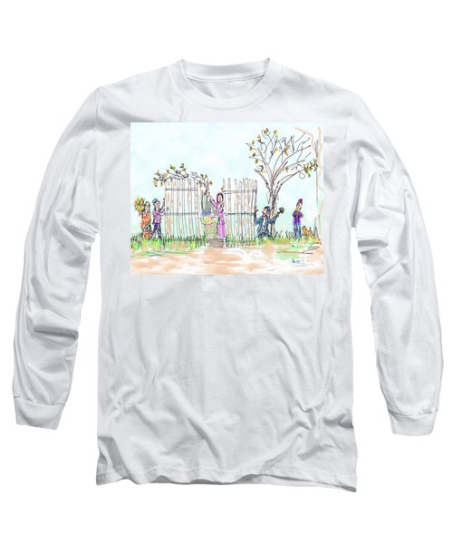 Building The Sukkot Long Sleeve T-Shirt