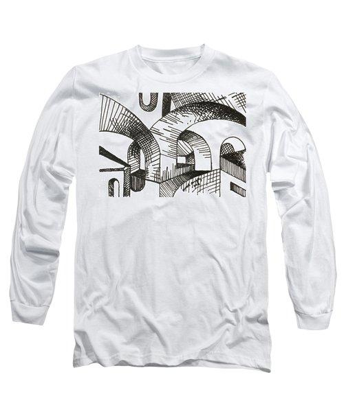 Buildings 1 2015 - Aceo Long Sleeve T-Shirt