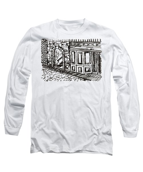 Buildings 2 2015 - Aceo Long Sleeve T-Shirt by Joseph A Langley