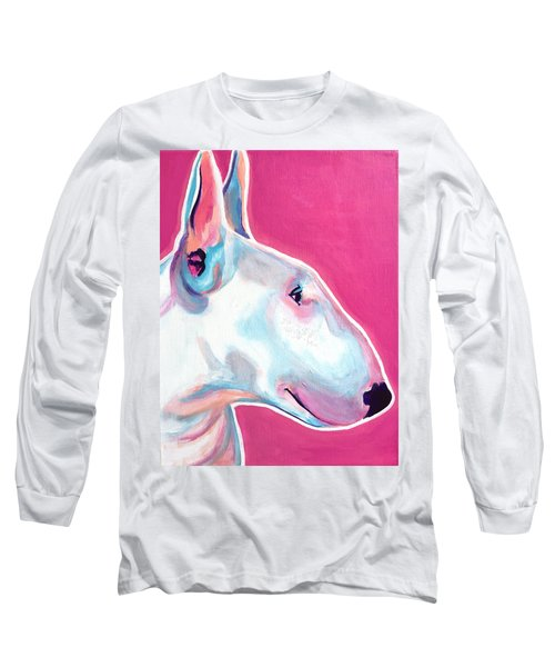 Bull Terrier - Bubblegum Long Sleeve T-Shirt