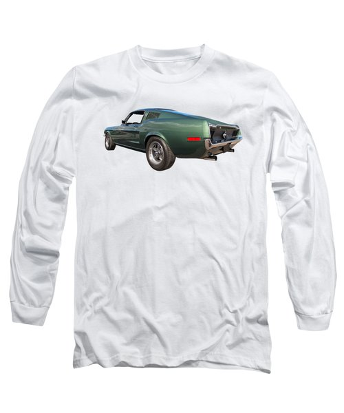 Bullitt - 1968 Mustang Fastback Long Sleeve T-Shirt