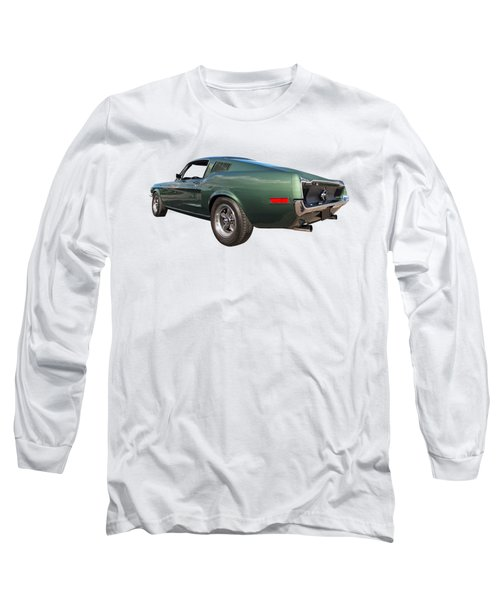 Bullitt - 1968 Mustang Fastback Long Sleeve T-Shirt