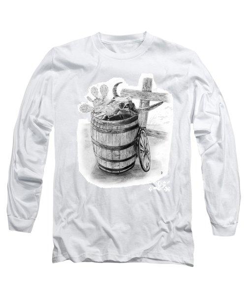Bull's Head Barrell 3 Long Sleeve T-Shirt