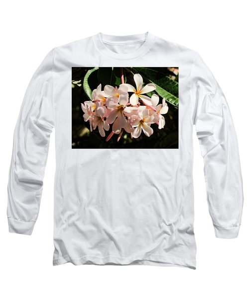 Bunch Of Plumeria Long Sleeve T-Shirt