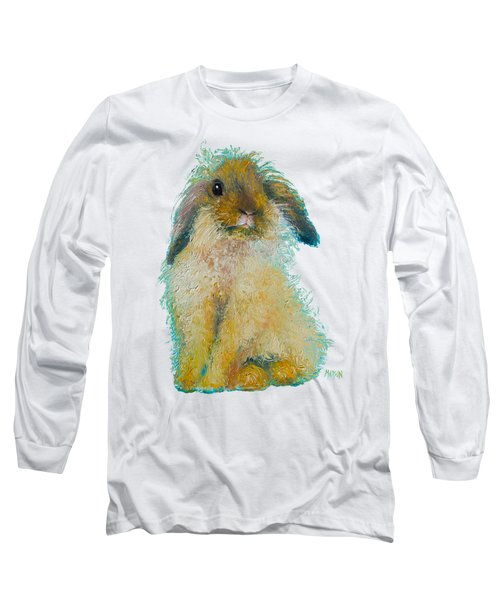 Bunny Rabbit Painting Long Sleeve T-Shirt
