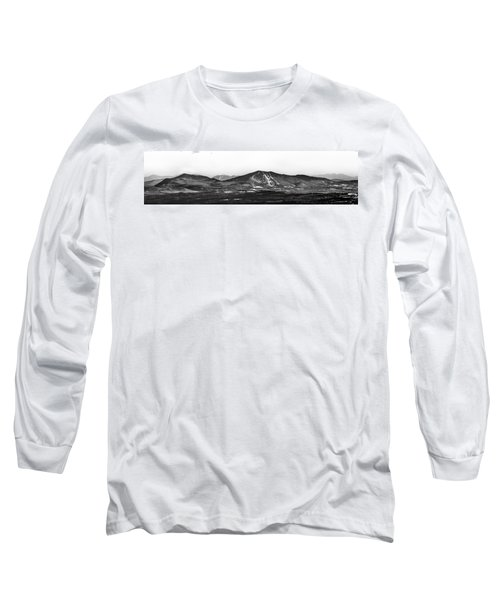 Burke And Cannon Wide Panoramic Long Sleeve T-Shirt