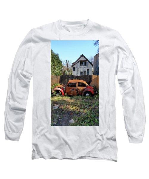 Burned Bug V Long Sleeve T-Shirt