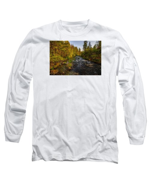 Burney Falls Hdr Long Sleeve T-Shirt