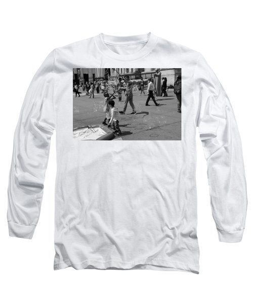 Burst Your Bubble Long Sleeve T-Shirt