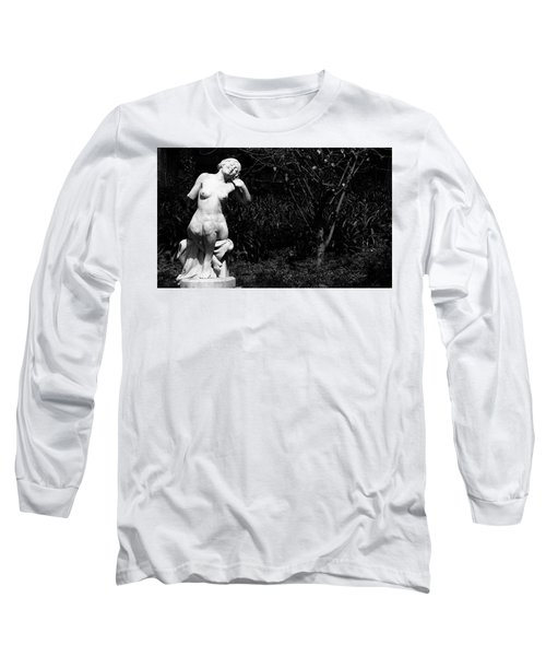 Long Sleeve T-Shirt featuring the photograph But Still Smiling by Lorraine Devon Wilke