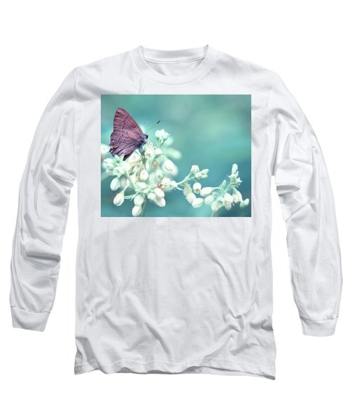 Buterfly Dreamin' Long Sleeve T-Shirt by Mark Fuller