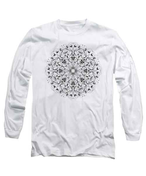 Butterflies And Grapes  Long Sleeve T-Shirt