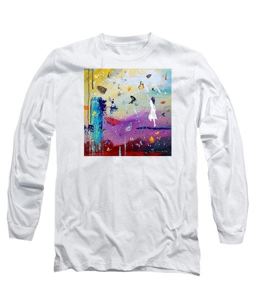 Butterflies And Me Long Sleeve T-Shirt