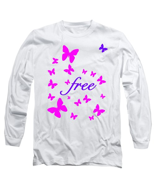 Butterflies Free Long Sleeve T-Shirt