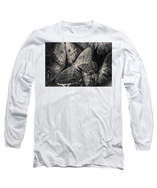Butterfly #2056 Long Sleeve T-Shirt by Andrey Godyaykin