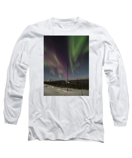 Butterfly Aurora Long Sleeve T-Shirt