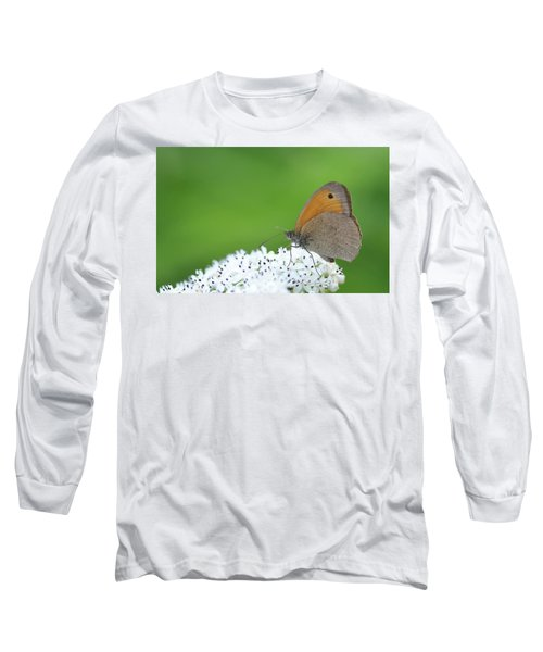 Long Sleeve T-Shirt featuring the photograph Butterfly by Bess Hamiti