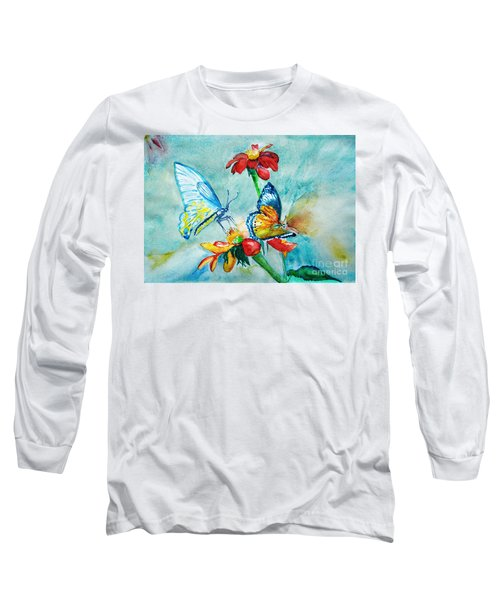 Butterfly Dance Long Sleeve T-Shirt