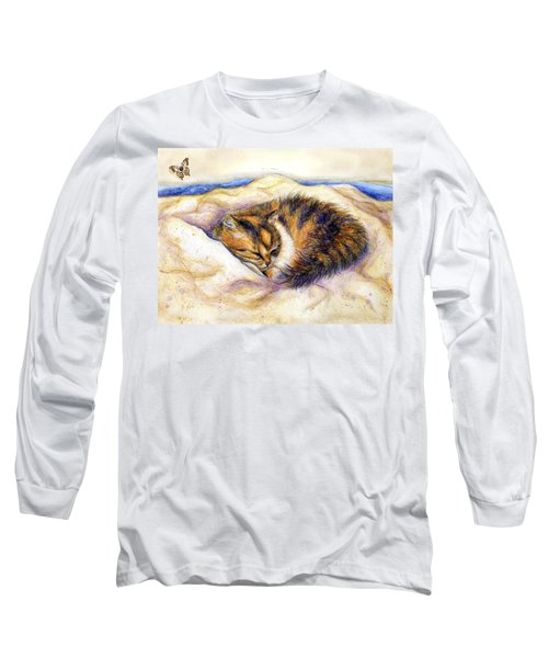 Butterfly Dreams Long Sleeve T-Shirt by Retta Stephenson
