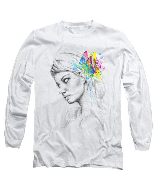 Butterfly Queen Long Sleeve T-Shirt