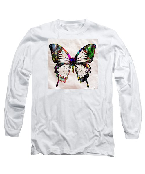 Butterfly Rainbow Long Sleeve T-Shirt